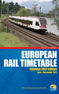 European Rail Timetable Summer 2012 9781848485518