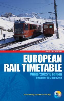 European Rail Timetable Winter 2012/13 9781848485778