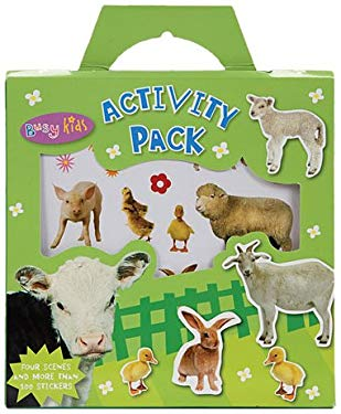 Sticker Activity Pack Animals [With 4 Scenes] 9781848790445