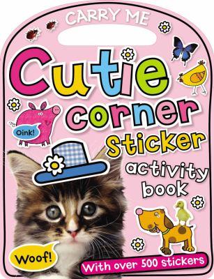 Carry-Me: Cutie Corner Sticker Activity Book 9781848796621