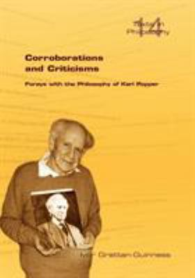 Corroborations and Criticisms. Forays with the Philosophy of Karl Popper 9781848900042
