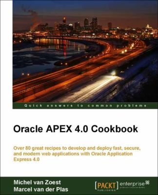 Oracle Apex 4.0 Cookbook 9781849681346