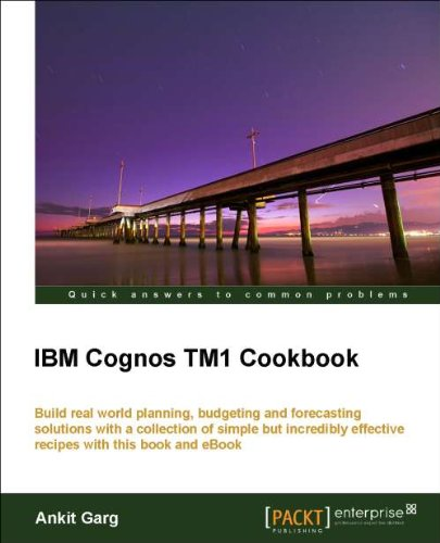 IBM Cognos Tm1 Cookbook 9781849682107