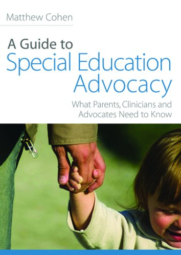 A Guide to Special Eduation Advocacy 9781843108931