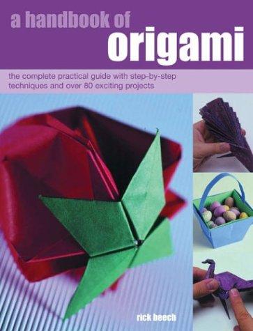 A Handbook of Origami 9781842158906