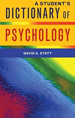 A Student's Dictionary of Psychology 9781841693422