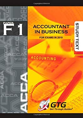 ACCA - F1 Accountant in Business 9781848081161