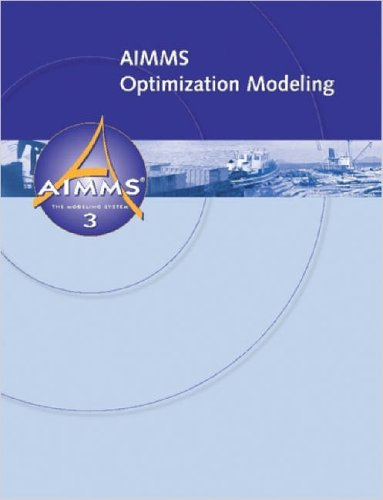 Aimms - Optimization Modeling 9781847539120