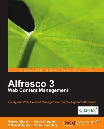 Alfresco 3 Web Content Management 9781847198006