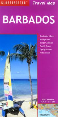 Barbados Travel Map: Barbados Island, Bridgetown, Lesser Antilles, South Coast, Speightstown, West Coast 9781845375621