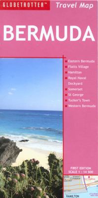 Bermuda Travel Map 9781845374532