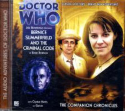 Bernice Summerfield and the Criminal Code 9781844354627
