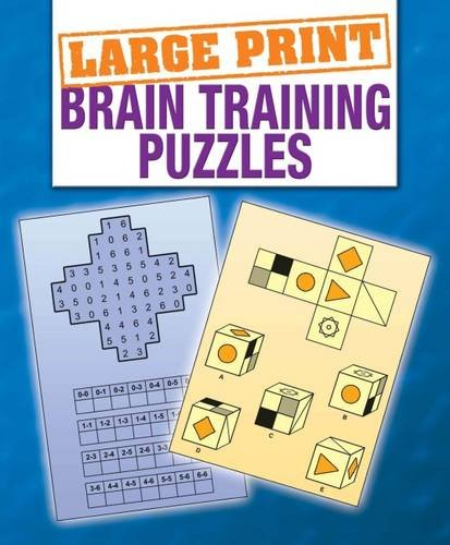 Large Print Braintraining Puzzles 9781848375345