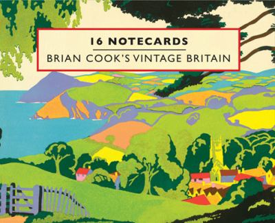 Brian Cook's Vintage Britain:16 Notecards 9781840656176