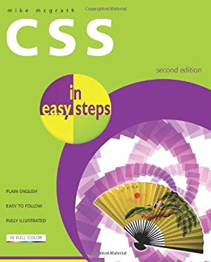 CSS in Easy Steps 9781840783643