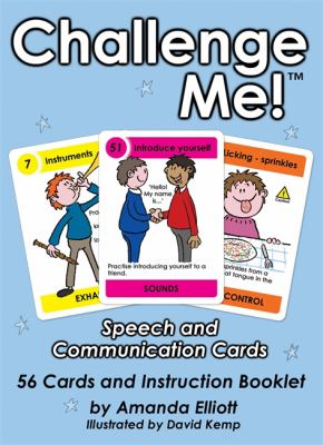 Challenge Me! Speech and Communication Cards [With Booklet] 9781843109464