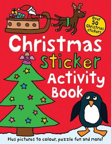Christmas Sticker Activity Book 9781849152778