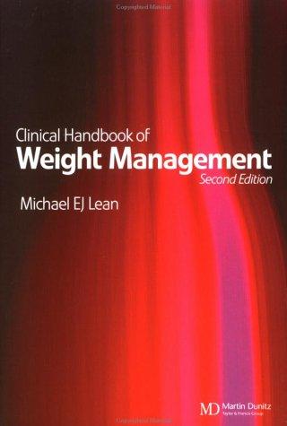 Clinical Handbook of Weight Management 9781841841045
