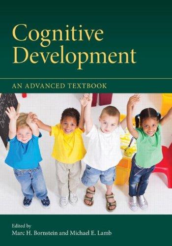 Cognitive Development: An Advanced Textbook 9781848729254