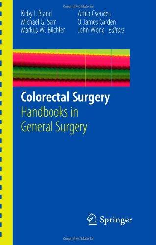 Colorectal Surgery 9781849964432