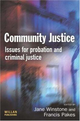 Community Justice 9781843921288