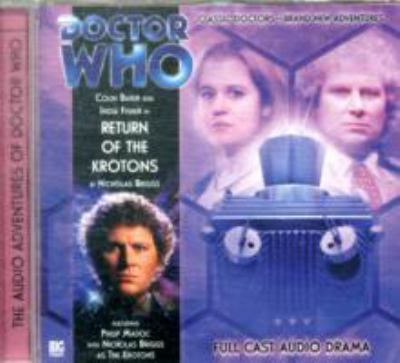 DR WHO RETURN OF THE KROTONS 9781844353859