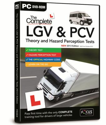 DTS COMPLETE LGV PCV THEORY HAZARD PERCE 9781843265825