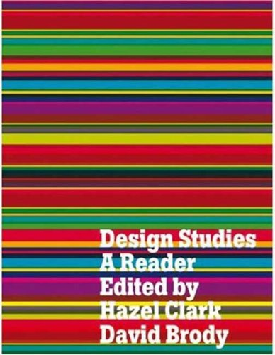 Design Studies: A Reader 9781847882363