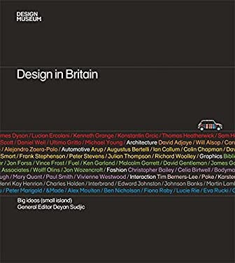Design in Britain: Big Ideas (Small Island) 9781840915426