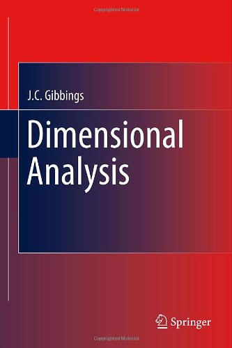 Dimensional Analysis 9781849963169