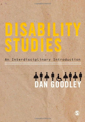 Disability Studies: An Interdisciplinary Introduction 9781847875587