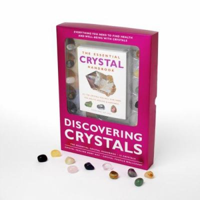 Discovering Crystals [With Crystal Healing Body Map & IdentifierWith 10 CrystalsWith the Essential Crystal Handbook] 9781844834877