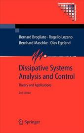 Dissipative Systems Analysis and Control: Theory and Applications 7510410