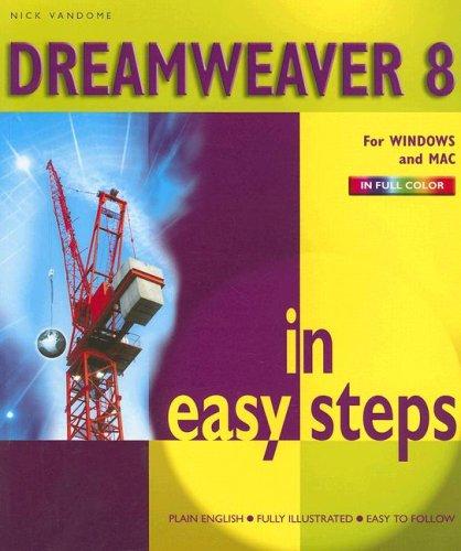 Dreamweaver 8 in Easy Steps 9781840783124