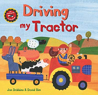 Driving My Tractor W/CD 9781846863585