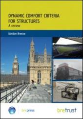 Dynamic Comfort Criteria for Structures: A Review 13247582