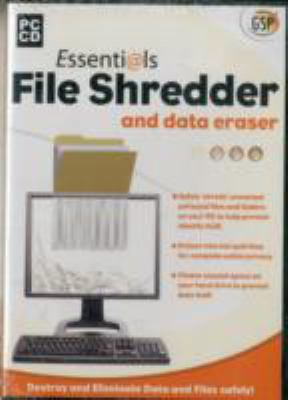 ESSENTIALS FILE SHREDDER