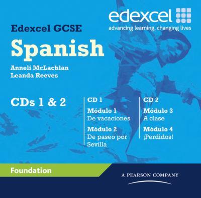 Edexcel GCSE Spanish Foundation Audio CDs 9781846903984