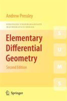 Elementary Differential Geometry 9781848828902