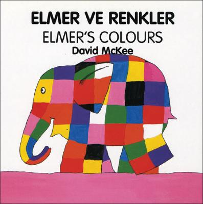 Elmer's Colors (Turkish-English) 9781840590593