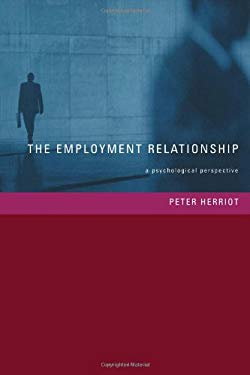 Employment Relationship: A Psychological Perspective 9781841692395