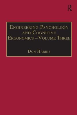Engineering Psychology and Cognitive Ergonomics 9781840145465