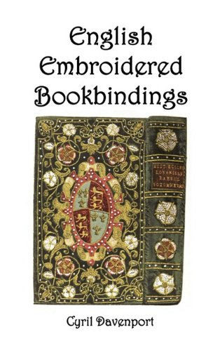English Embroidered Bookbindings 9781849025096