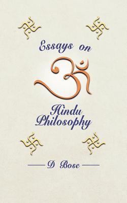 Essays on Hindu Philosophy 9781847484352
