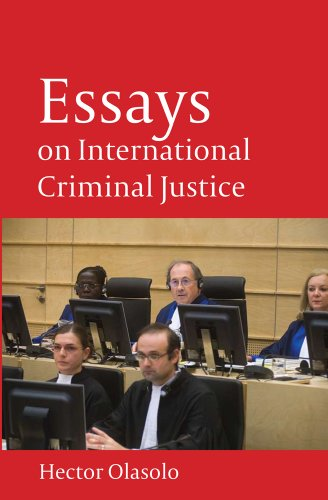 Essays on International Criminal Justice 9781841130521