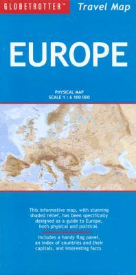Europe Travel Map 9781847732408
