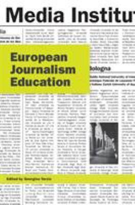 European Journalism Education 9781841502359
