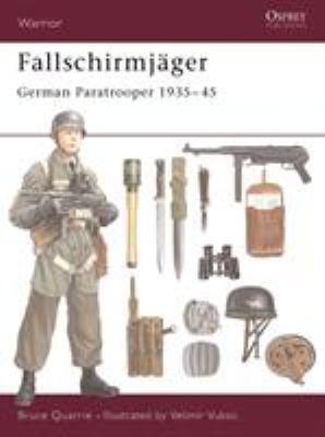 Fallschirmj?ger: German Paratrooper 1935-45 9781841763262