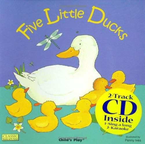 Five Little Ducks 8x8 W/ CD
