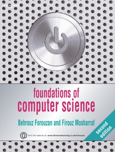 Foundations of Computer Science 9781844807000